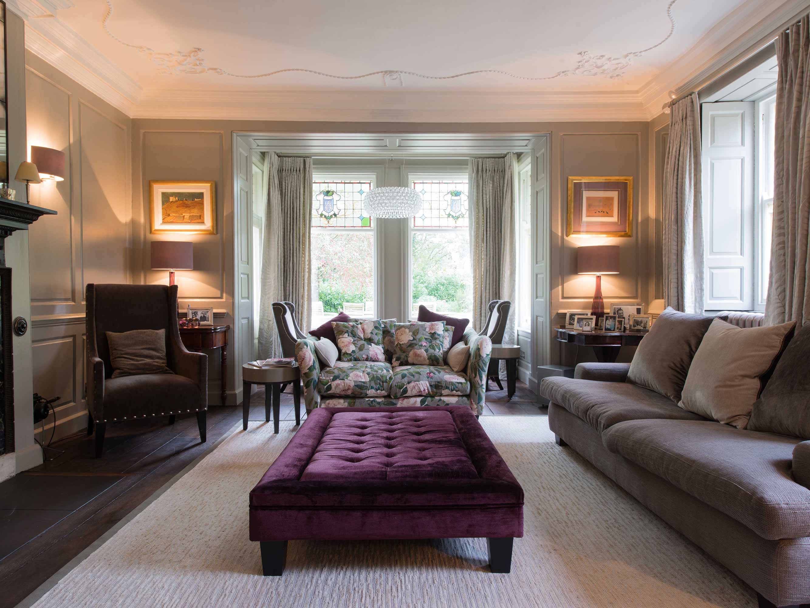 Sarah Lyall Interiors Private House, Somerset